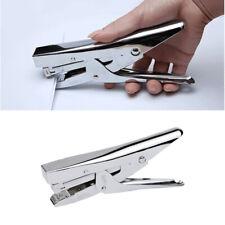 Metal Hand Held Stapler Desktop Manual Plier Stapler Student Stationery FD8