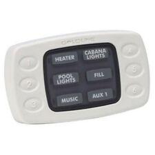 Hayward AQL-SS-6B-W Wired 6 Button Spa Side Remote Control White