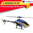 Walkera V450D03 6CH 3D Fly 6-Axis Single Blades RC Helicopter+Transmitter