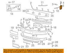 AUDI OEM A8 Quattro Front Bumper-Bumper Cover Side Bracket Right 4D0807254L