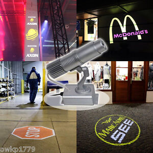 20W LED Static Gobo Advertising Logo Projector Light (1 Light + Two Colors Film)