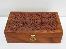 FULLY HAND CRAFTED WOODEN JEWELLERY BOX