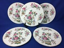 Wedgwood CHARNWOOD Bone China SALAD PLATES WD 3984 Made in England SET OF 5