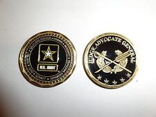 CHALLENGE COIN US ARMY JUDGE ADVOCATE GENERAL LEADERSHIP VALUES REAL NICE COIN