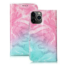 Marble PU Leather Wallet Flip Card Slot Case Cover For iPhone 11 Pro XS XR 8 7 X