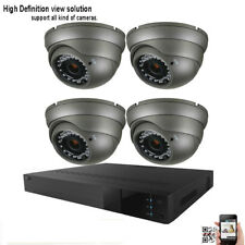 4Ch All-in-One 1080P Dvr 1800Tvl 2.8-12mm Lens 36Ir Security Camera System 217/