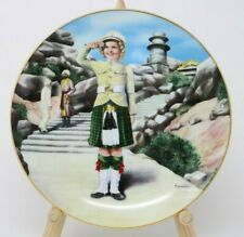 The Danbury Mint Shirley Temple Collector Plate Wee Willie Winkie w/Coa