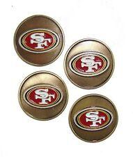 San Francisco 49ers Golf Ball Markers (Set of 4)