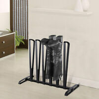 3 Pairs Boot Rack Shoe Storage Organizer Standing Holder Shoes Hanger Iron Shelf