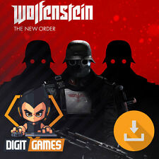 Wolfenstein: The New Order - Steam / PC Game - New / FPS / Shooter