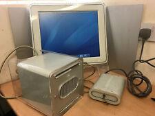 Apple Power Mac G4 Cube 450mhz 1GB RAM 80GB VINTAGE TIGER OSX M7886 TISSUE BOX