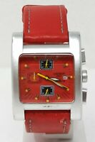 Orologio locman sport chrono watch aluminius montre reloj clock 38 mm used