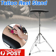 Portable Tattoo Armrest Arm Leg Rest Studio Tripod Stand Pad Adjustable Height
