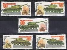 CCCP / USSR gestempeld serie - Tanks (019)