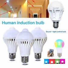 LED de ahorro de energía E27 Blanco 5W ~ 12W Bombilla amanecer anochecer para Casa Jardín Lámpara Lote