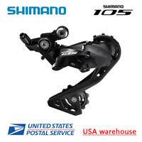 Shimano 105 RD-R7000 SS GS 11-speed Rear Derailleur Short Medium Cage Black OE