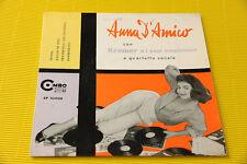 """7"""" SOLO COPERTINA SENZA DISCO ANNA D'AMICO EP ORIG '50 EX RAGGIO DI SOLE"""