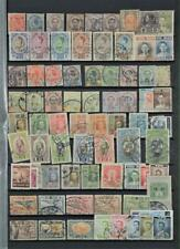 SIAM THAILAND STAMPS SELECTION ON LARGE STOCK CARD   (C28)