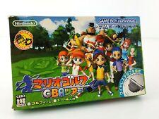 Mario Golf GBA Tour + Adaptateur Nintendo Game Boy Advance GBA JAP Japan complet