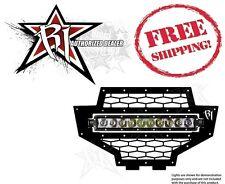 "Rigid Industries 10"" SR Series Lower LED Light Bar Grille 2012-2013 Polaris RZR"