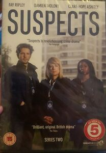 Suspects (DVD 2014) Series Two - Fay Ripley  new sealed