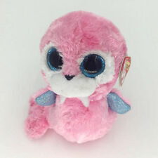 "Ty Beanie Boos Tusk Pink Walrus 6"" Stuffed Plush Toys Child Gift GL"