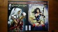 Grimm Fairy Tales #94 cover A #95 Cover C 2014  Zenescope Comics