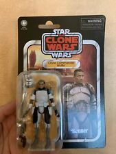 STAR WARS CLONE WARS THE VINTAGE COLLECTION CLONE COMMANDER WOLFFE 3.75""