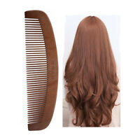 Hair Comb Healthcare Sandalwood Anti-static Beard Combs Hair Brush Hairbrush D