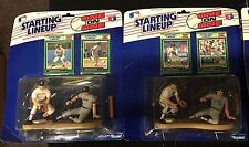 1989 SLU 1 on 1 ALAN TRAMMELL & JOSE CANSECO Wade Boggs & Don Mattingly LOT OF 2