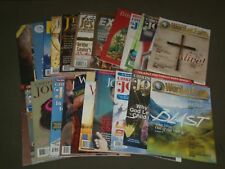 1980S-2000S ASSORTED BIBLE JESUS MAGAZINES LOT OF 25 - GREAT COVERS - PB 1406