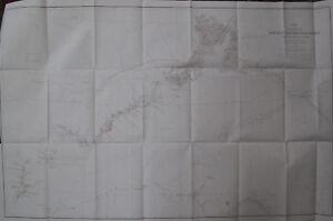 Folded Map Alaska Koyukuk Chanadlar River Geology Geologic Notes Alaskan 1899