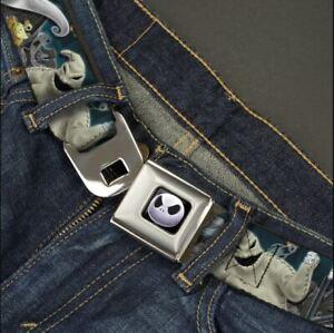 Buckle Down Seatbelt Belt - Jack Skellington Oogie Boogie Sally Zero Made in USA