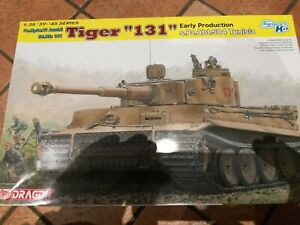 "kit Tiger ""131"" Early Production, marca Dragon smart kit, scala 1/35"