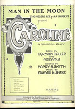 "CAROLINE Broadway Show Sheet Music ""Man In The Moon"""