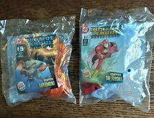 2003 Burger King JUSTICE LEAGUE  lot of 2 MIB sealed Superman~The Flash