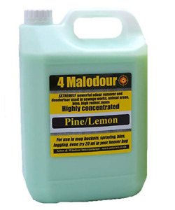 Odour Remover and Deodoriser - Used in Sewage Works, Home, Garden, Kennels Pets