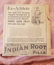 Dr Morse's Indian Root Pills - Syd Bryant - 1923 Advertisement