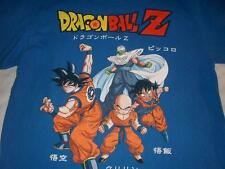 Dragonball Z Goku Piccolo Anime Fighting Stance Blue T-shirt Men's Large used