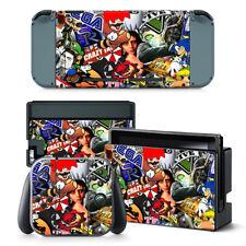 Sticker BOMB Nintendo Switch protettiva della pelle 4 PC Adesivo Set - 0294