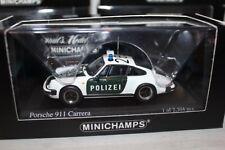 1/43 PORSCHE 911 CARRERA (930) G-MODELL POLIZEI STUTTGART PMA MINICHAMPS OVP