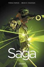 Saga Volume 7 Vaughan, Brian K Paperback Used - Very Good