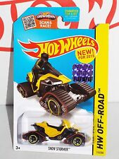 Hot Wheels New For 2015 #110 Snow Stormer Yellow From RLC Factory Set