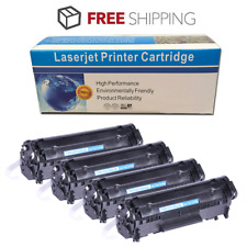 4PK Black 104 FX9 Toner Cartridge For Canon 104 ImageClass MF4350D MF4150 D420