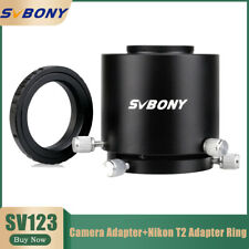 SV123 Spotting Scope Camera Adapter+Nikon DSLR&SLR Cameras T2 Mount Adapter Ring