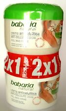 Babaria Aloe Vera Anti Cellulite Cream + Caffeine 400ml x2  --  2 FOR 1 PRICE!