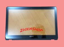 "NEW Sony SVF15A SVF15AC1QL SVF15AA1QL 15.5"" Touch Screen Digitizer Glass+Bezel"