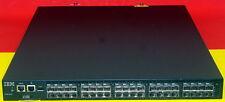 IBM  SAN40B-4 2498-B40 40E 249840E FW ECM License 40 Active Ports 2xAvailable