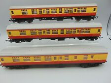 Hornby & Tri-Ang OO Gauge Coaches X 3 (Unboxed)