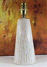 Table lamp A Vintage Rye Pottery Ceramic 1950's Studio Pottery Very Retro